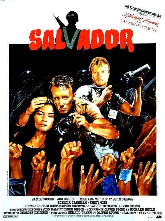 Salvador est un film américain d'Oliver Stone sorti en 1986.
