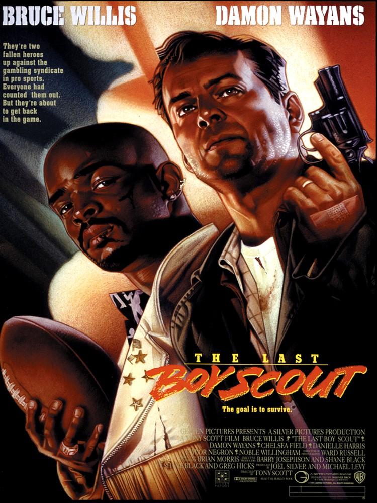 Le Dernier Samaritain  (The Last Boy Scout) Film américain réalisé par Tony Scott, sorti en 1991.